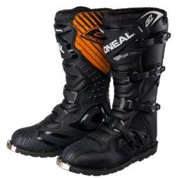 Мотоботы кроссовые Rider Boot черные фото 1