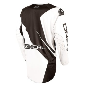 Джерси Element RACEWEAR чёрно-белая фото 2
