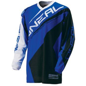 Джерси Element RACEWEAR чёрно-синяя фото 1
