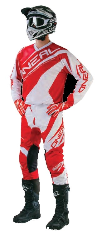 Джерси Element RACEWEAR красно-белая фото 3