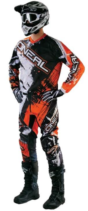 Джерси Element SHOCKER чёрно-оранжевая фото 2