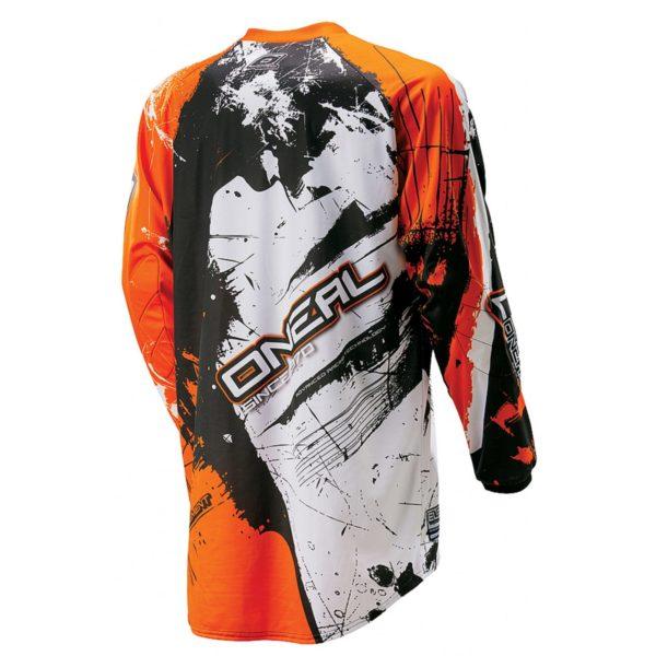 Джерси Element SHOCKER чёрно-оранжевая фото 3