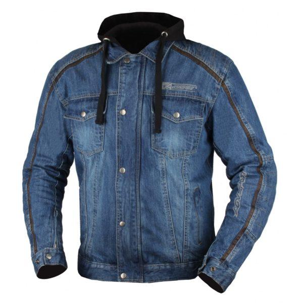 Джинсовая куртка Block с защитой фото 1