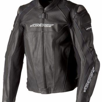 Кожаная куртка Corsa черная фото 1