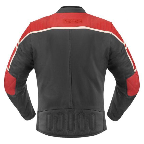 Кожаная куртка Curtis черно-красная фото 2