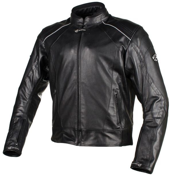 Кожаная мото куртка Breeze фото 1