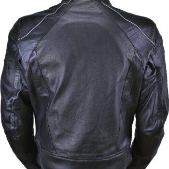 Кожаная мото куртка Breeze фото 2