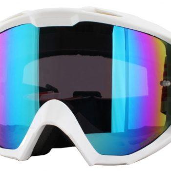 Кроссовая маска B1 RL Goggle FLAT белая/радиум фото 1