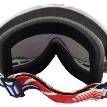 Кроссовая маска B1 RL Goggle FLAT белая/радиум фото 2