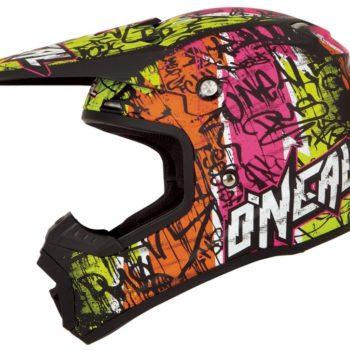 Кроссовый шлем 5Series VANDAL чёрно-желтый неон фото 1
