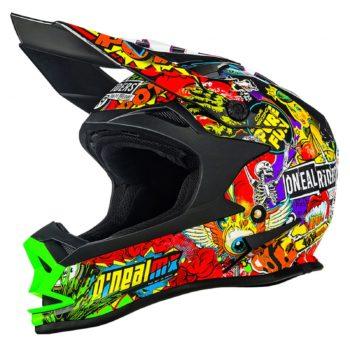 Кроссовый шлем 7Series CRANK чёрный/цветной фото 1