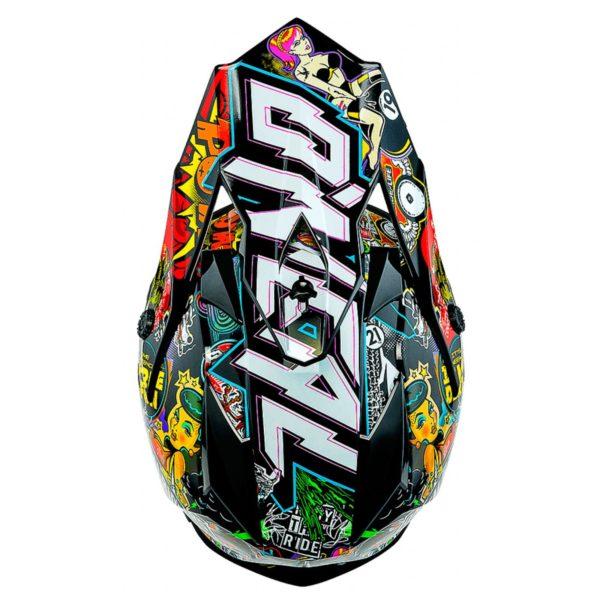 Кроссовый шлем 7Series CRANK чёрный/цветной фото 2