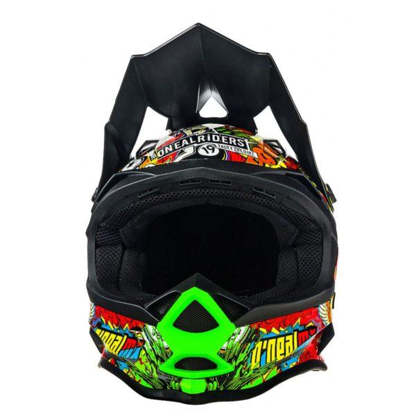 Кроссовый шлем 7Series CRANK чёрный/цветной фото 3