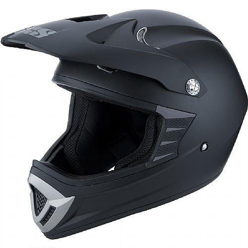 Кроссовый шлем HX276 черный матовый фото 1