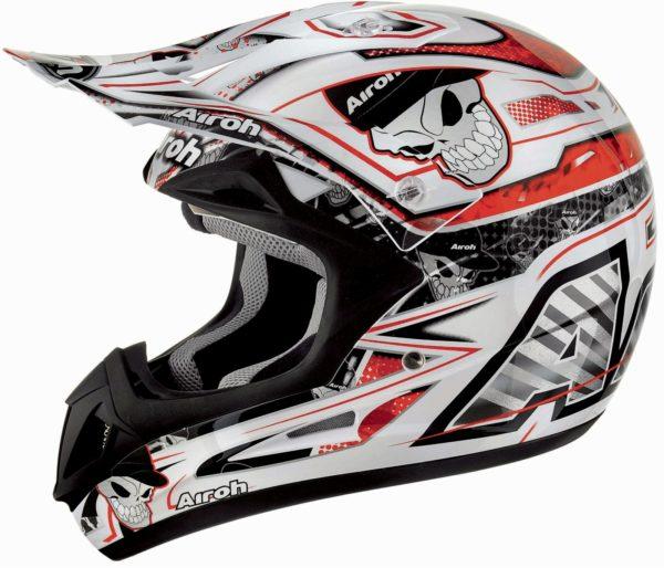 Кроссовый шлем JUMPER  MISTER X красный фото 1