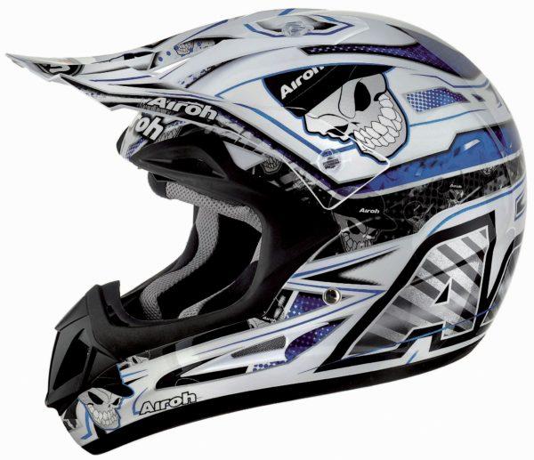 Кроссовый шлем JUMPER  MISTER X синий фото 1