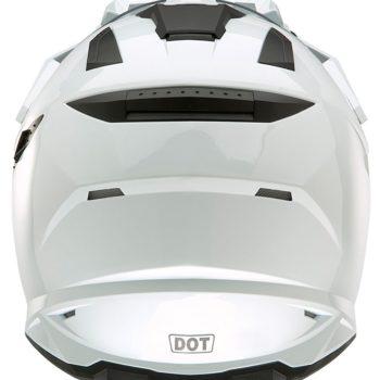 Кроссовый шлем SIERRA ADVENTURE PLAIN белый фото 2