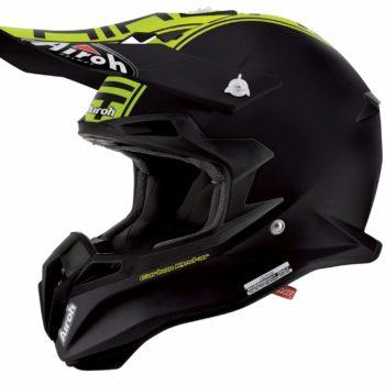 Кроссовый шлем TERMINATOR2.1 COM зелёный фото 1