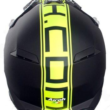 Кроссовый шлем TERMINATOR2.1 COM зелёный фото 2