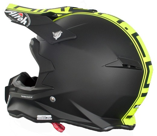 Кроссовый шлем TERMINATOR2.1 COM зелёный фото 5