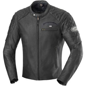 Куртка кожаная  ELIOTT черная фото 1
