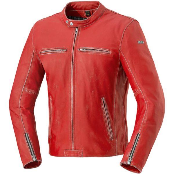 Куртка кожаная  SONDRIO красная фото 1
