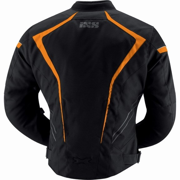 Куртка текстильная RODGER чёрно-оранжевая фото 2