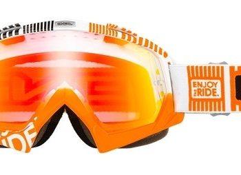 Маска B-Flex ETR белая/оранжевая/радиум фото 1