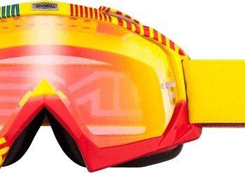 Маска B-Flex ETR желто-красная радиум фото 1
