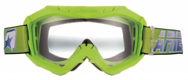 Маска кроссовая AAA флуоресцентно-зеленая фото 1