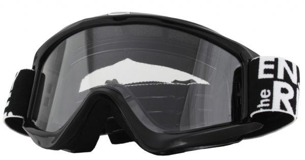 Маска кроссовая B-Zero Goggle чёрная фото 1