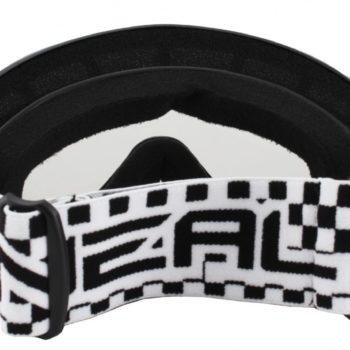 Маска кроссовая B-Zero Goggle чёрная фото 2