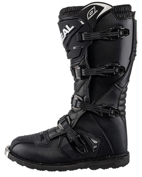 Мотоботы кроссовые Rider Boot черные фото 2