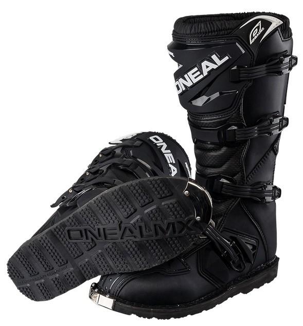 Мотоботы кроссовые Rider Boot черные фото 3