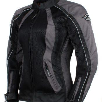 Мотоциклетная текстильная женская куртка XENA черная фото 1