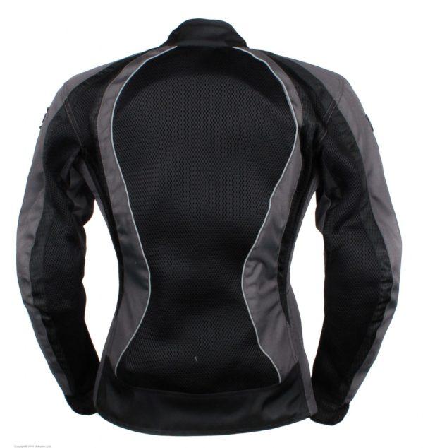 Мотоциклетная текстильная женская куртка XENA черная фото 2