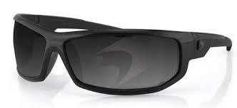 Очки AXL чёрные с дымчатыми линзами ANTIFOG фото 1