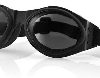 Очки Bugeye чёрные с дымчатыми линзами фото 1