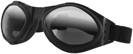 Очки Bugeye чёрные с зеркальными линзами фото 1