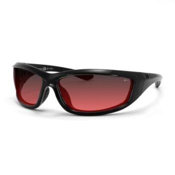 Очки Charger чёрные с розовыми линзами ANTIFOG ANSI Z87+ фото 1
