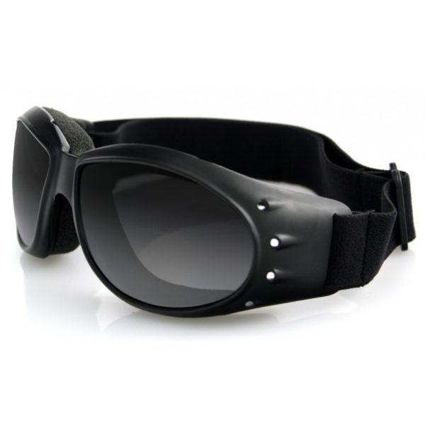 Очки Cruiser чёрные с дымчатыми линзами ANTIFOG фото 1