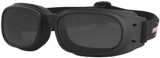 Очки Piston чёрные с дымчатыми линзами фото 1