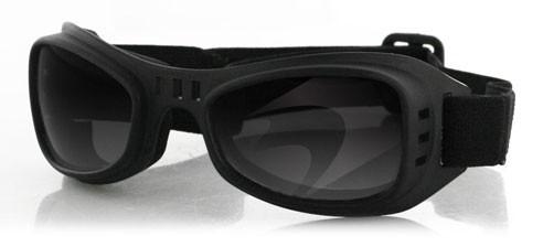 Очки Road Runner чёрные с дымчатыми линзами фото 1