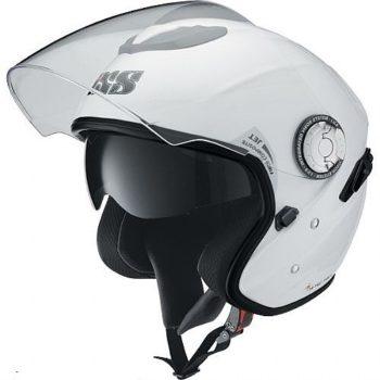 Открытый композитный шлем HX91 белый фото 1