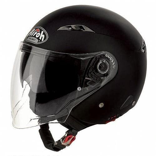 Открытый шлем CITY ONE чёрный фото 1