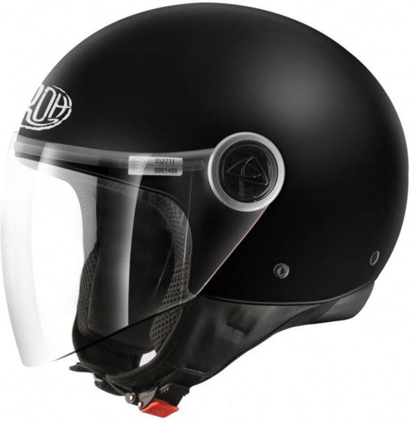 Открытый шлем MALIBU черный матовый фото 1
