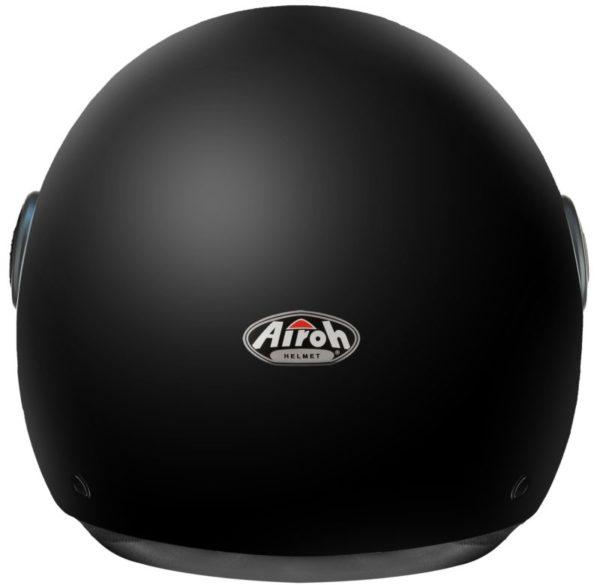 Открытый шлем MALIBU черный матовый фото 2