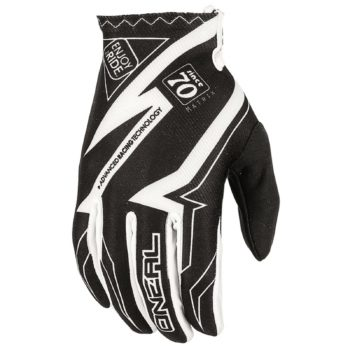 Перчатки Matrix RACEWEAR чёрно-белые фото 1