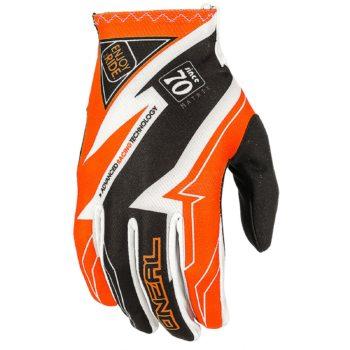 Перчатки Matrix RACEWEAR оранжевые фото 1