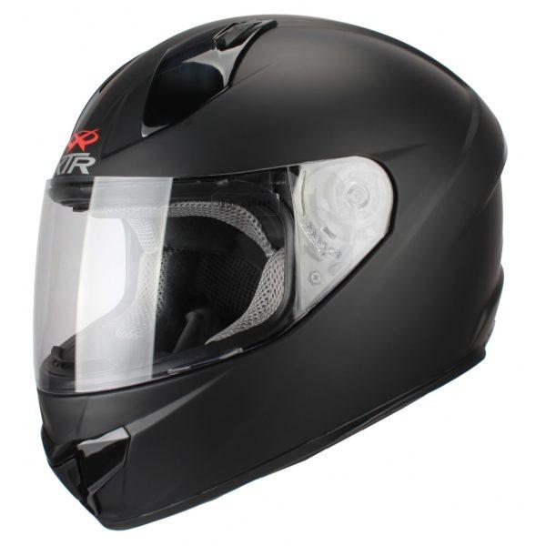 Шлем интеграл FFE1 черный матовый фото 1